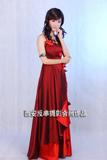 西安CD变装晚礼服美女